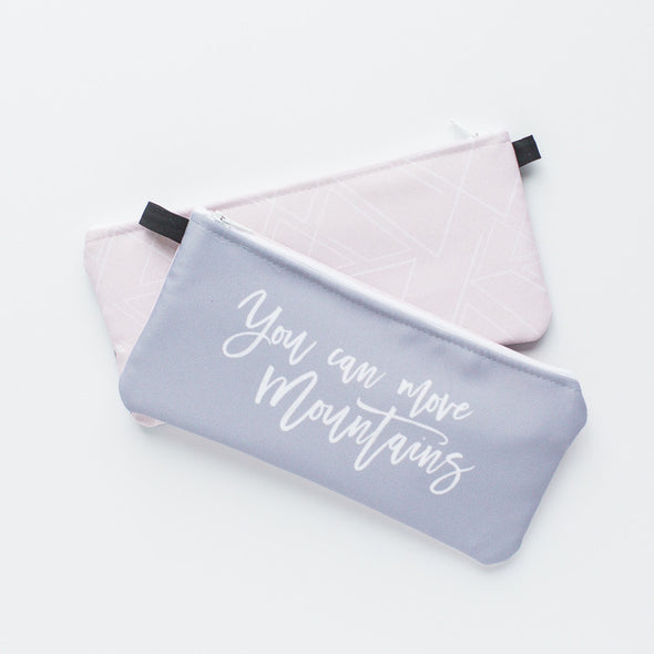 Inspirational Zippered Pouch