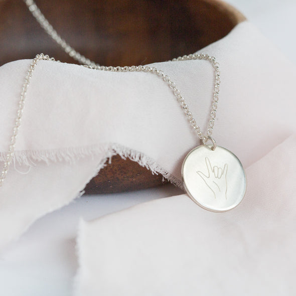 """I love you"" Symbol Necklace"