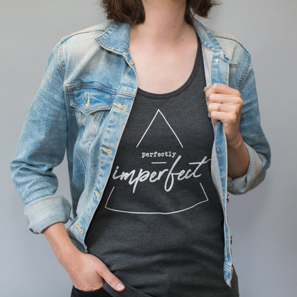 Perfectly Imperfect / Racerback Tank Top