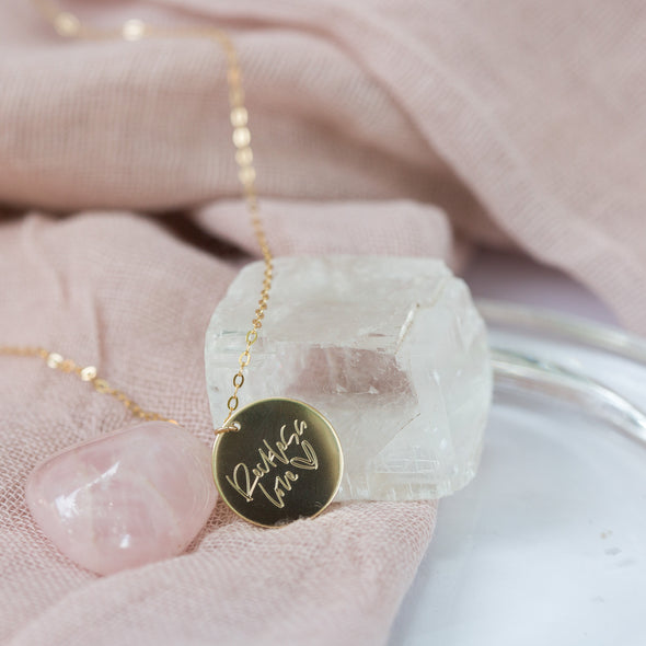 Reckless Love Necklace with Ge Georget {Pre-Order}
