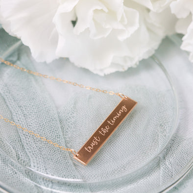 Trust the Timing Necklace with Gen Georget {Pre-Order}