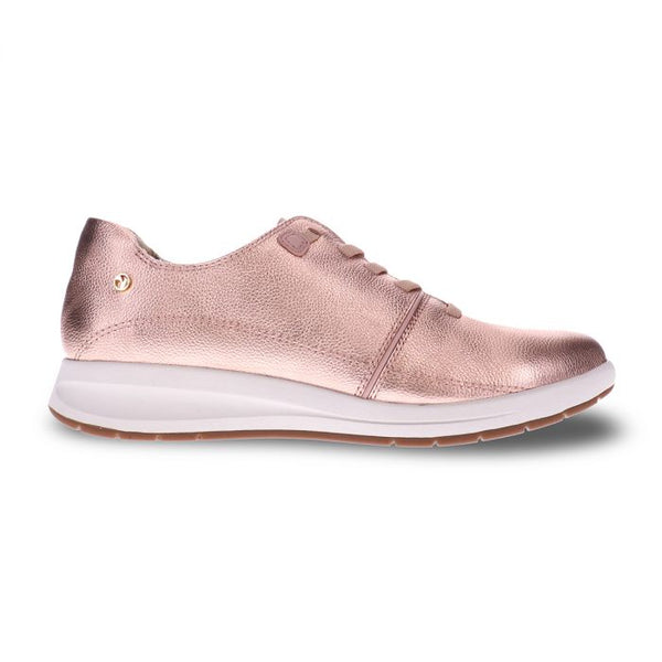 Crete Stretch-Lace Sneaker Rose