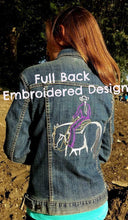 Embroidered Design Full Back Size