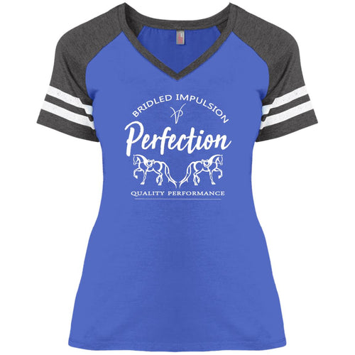 Perfection Ladies' Game V-Neck T-Shirt