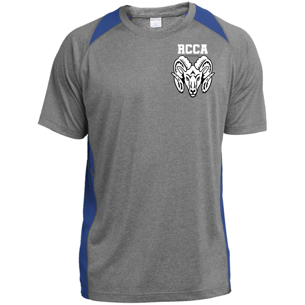 RCCA Ram Youth Colorblock Performance T-Shirt