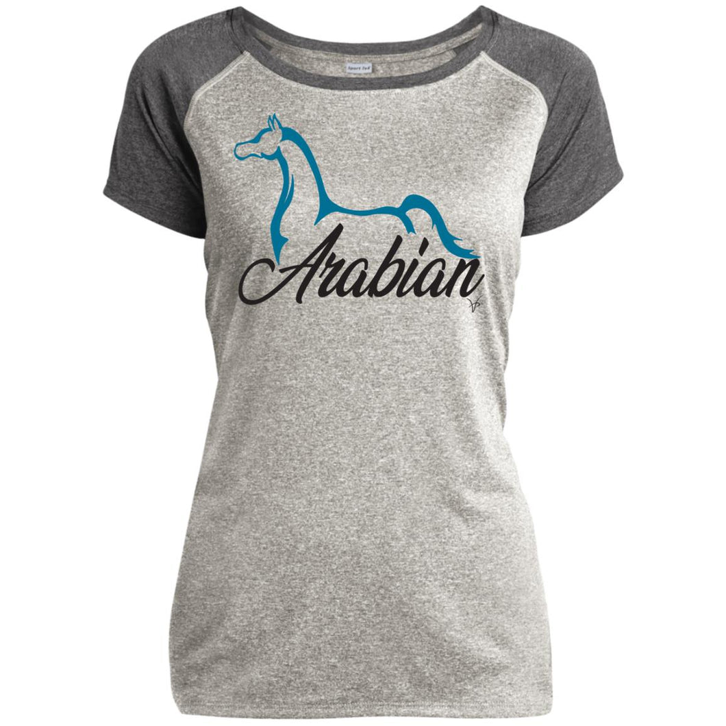 Arabian Ladies Heathered Performance T-Shirt