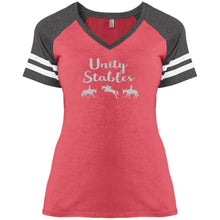 Unity Stables Ladies' Game V-Neck T-Shirt