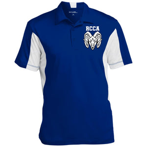 RCCA Men's Colorblock Performance Polo