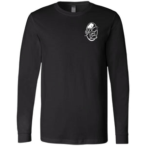 RGB Men's Jersey LS T-Shirt Logo on Chest
