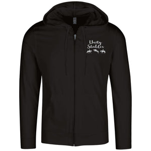 Unity Stables Lightweight Full Zip Hoodie