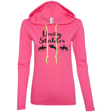 Long sleeve light weight hoodie