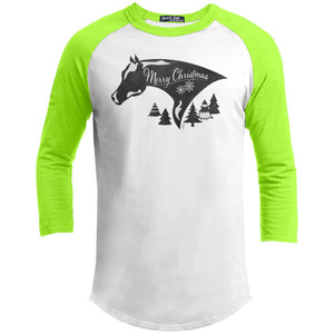 Painted Christmas Youth Sporty T-Shirt
