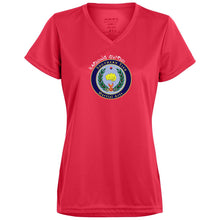 Ladies Wicking V-Neck T