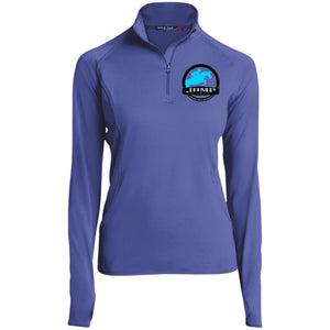 Women's Performance 1/2 Zip- Jump Badge Embroidered