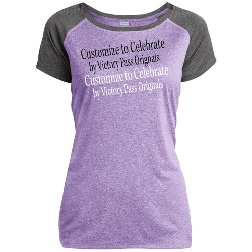 Ladies Heather on Heather Performance T-Shirt