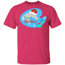 Horsey Christmas Adult Basic T-Shirt