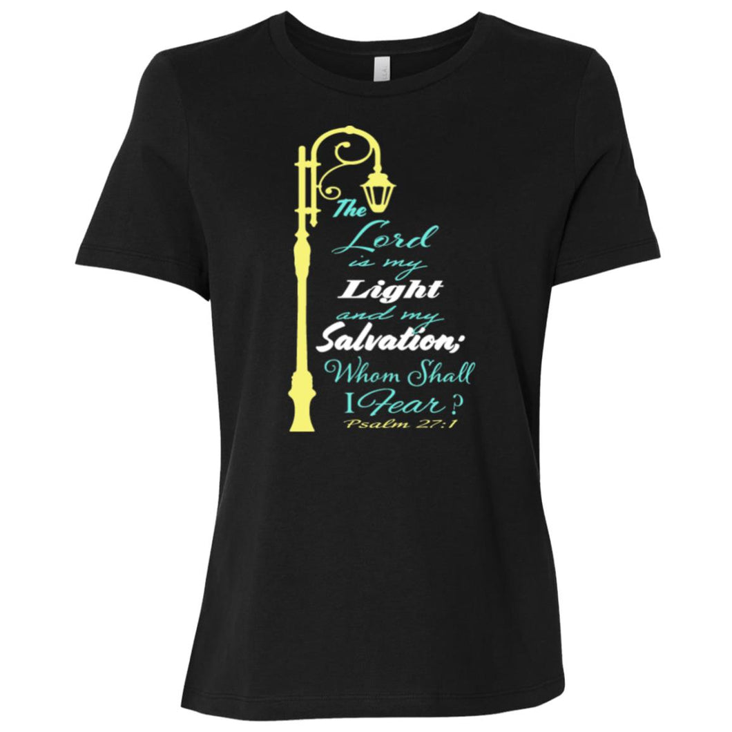 Psalms 27 Ladies' Relaxed Jersey Short-Sleeve T-Shirt