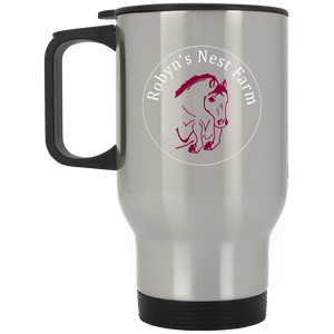 Robyn's Nest Silver Stainless Travel Mug