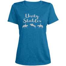 Unity Stables Ladies' Heather Performance T-Shirt