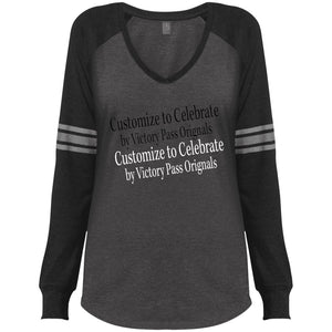Ladies' Game LS V-Neck T-Shirt