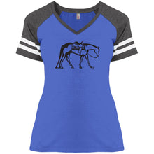 Western Ladies' Game V-Neck T-Shirt