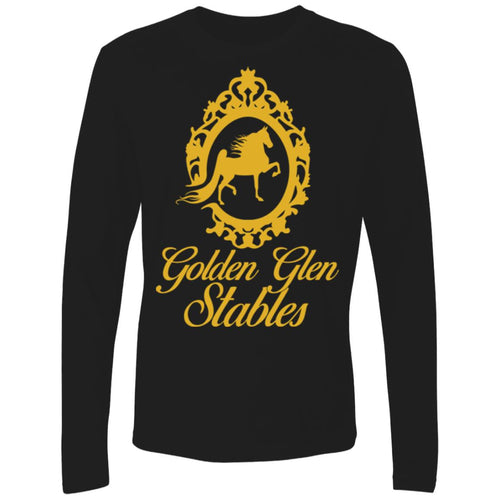 Golden Glen Stables Men's Premium LS
