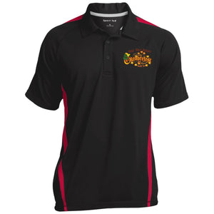 Sport-Tek Men's Colorblock 3-Button Polo