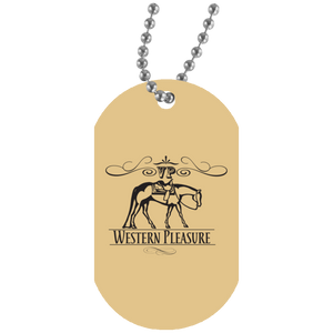 Western pleasure Dog Tag