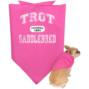 Saddlebred Doggie Bandana