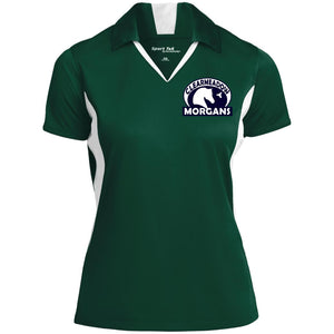 Clearmeadow Morgans Ladies' Colorblock Performance Polo