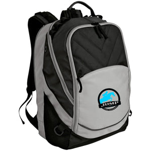 Jump Badge Embroidered Laptop Computer Backpack