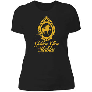 Golden Glen Stables Ladies' Boyfriend T-Shirt