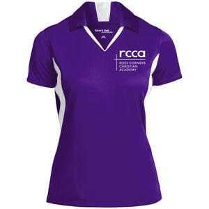 RCCA Ladies' Colorblock Performance Polo