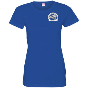 ESAHA Ladies Fine Jersey T w/ White Ink Back Design
