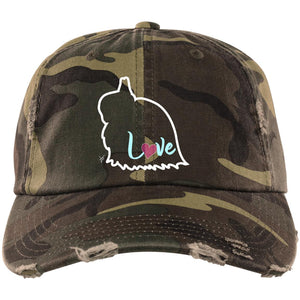 JW Love Distressed Dad Cap