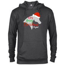 Horsey Christmas French Terry Hoodie