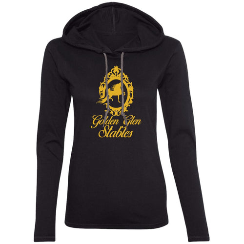 Golden Glen Stables Ladies' LS T-Shirt Hoodie