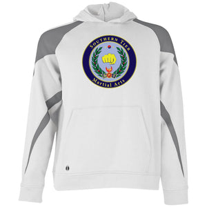Holloway Youth Colorblock Hoodie