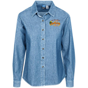Oktoberfest Women's LS Denim Shirt