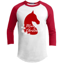 Equestrian Christmas Youth Sporty T-Shirt
