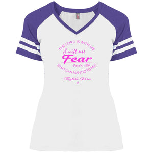 Taylor's Verse Ladies' Game V-Neck T-Shirt
