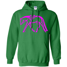 Hunter Pullover Hoodie w/ Hot Pink Ink