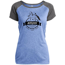 Morgan Ladies Heather on Heather Performance T-Shirt