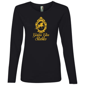 Golden Glen Stables Ladies' Lightweight LS T-Shirt