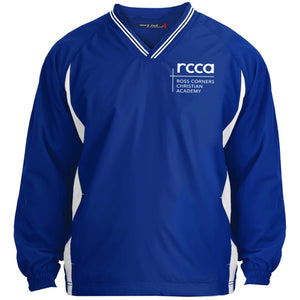 RCCA Tipped V-Neck Windshirt