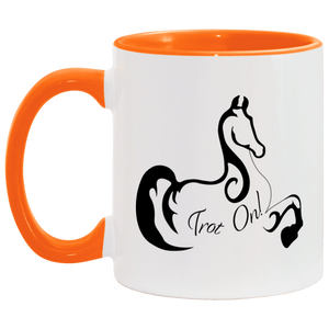 Trot On Accent Mug