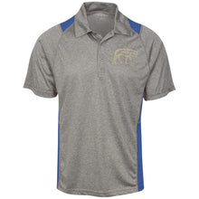 ST665 Sport-Tek Heather Moisture Wicking Polo