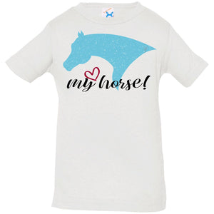 My Horse Infant Jersey T-Shirt
