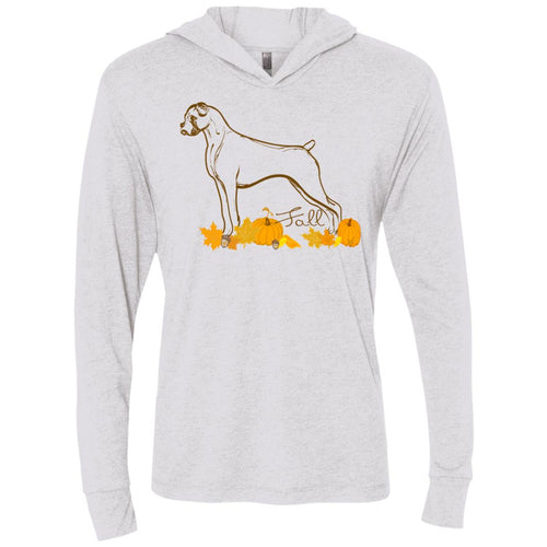 Fall Boxer Unisex LS Hooded T