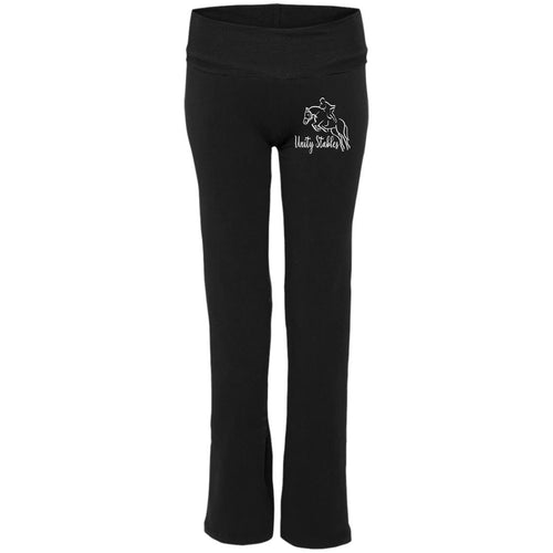 Unity Stables Jumping Horse Ladies' Yoga Pants